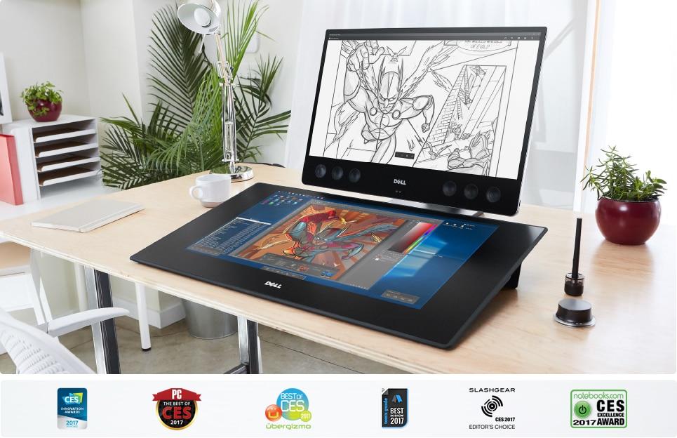 Dell começa a vender seu próprio Surface Studio o Canvas