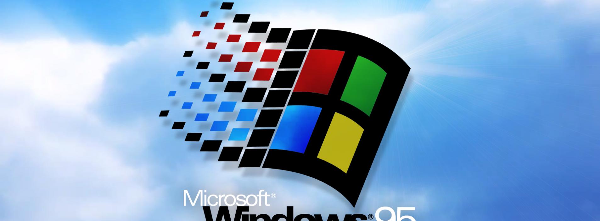 Com 22 anos de vida Windows 95 ainda está em uso pelo mundo a fora