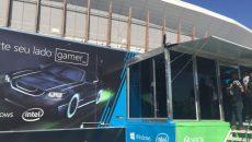 Microsoft e Intel juntas promovendo evento gamer no Rock in Rio