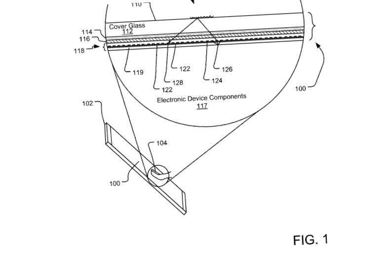 Patente de leitor de digitais direto na tela é da Microsoft