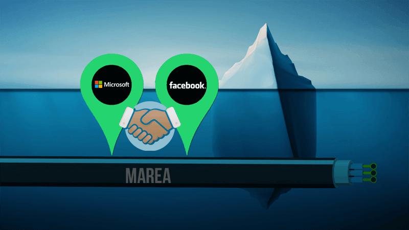 Microsoft, Facebook e Telxius constroem cabo submarino que corta o Atlântico
