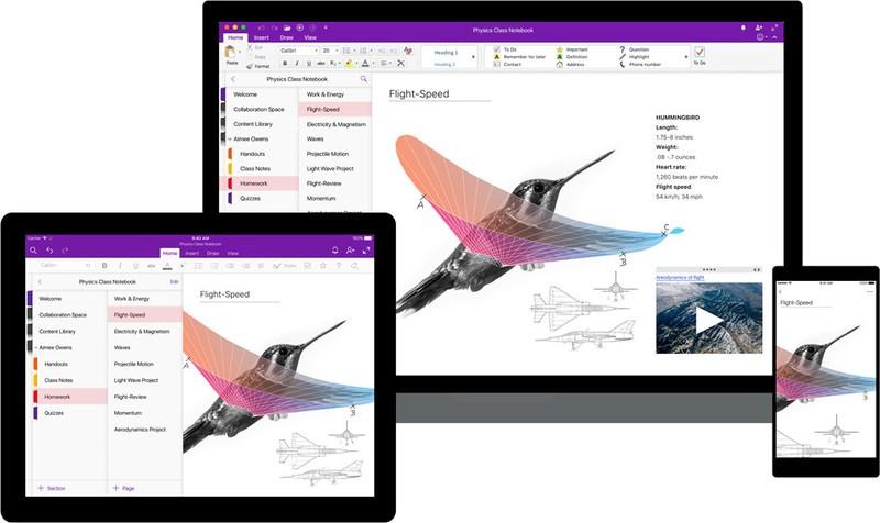 Microsoft libera grande update para o OneNote na Redstone 4