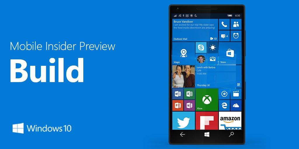 Build Insider 15252 parece confirmar Fall Creators Update para o Mobile