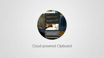 O recurso Área de Transferência na Nuvem do Windows 10 agora suporta imagens maiores