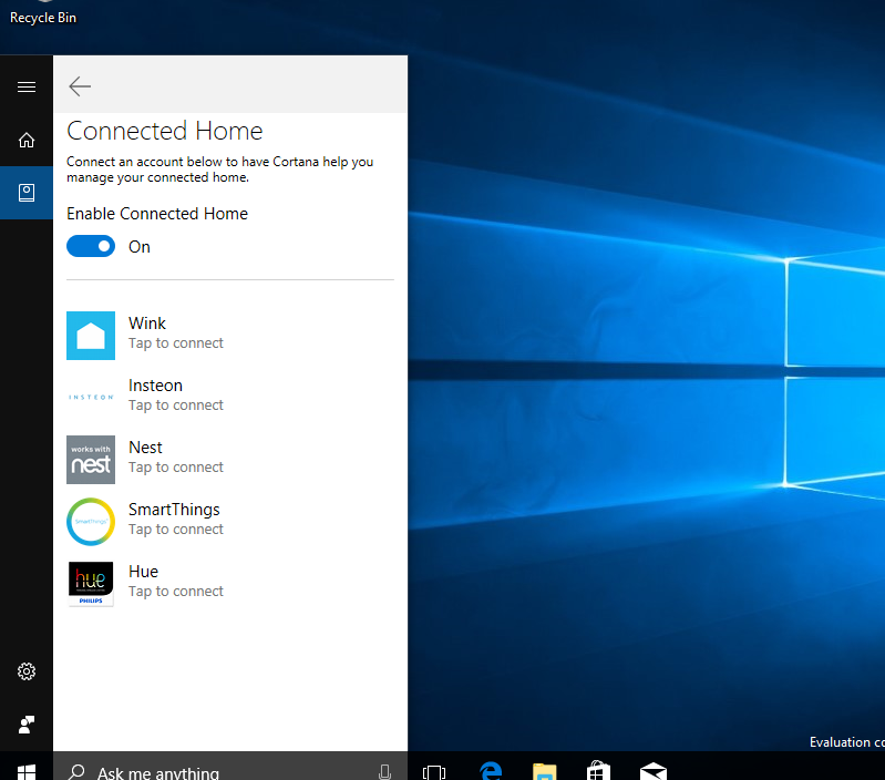 Cortana agora pode controlar nativamente sua casa inteligente
