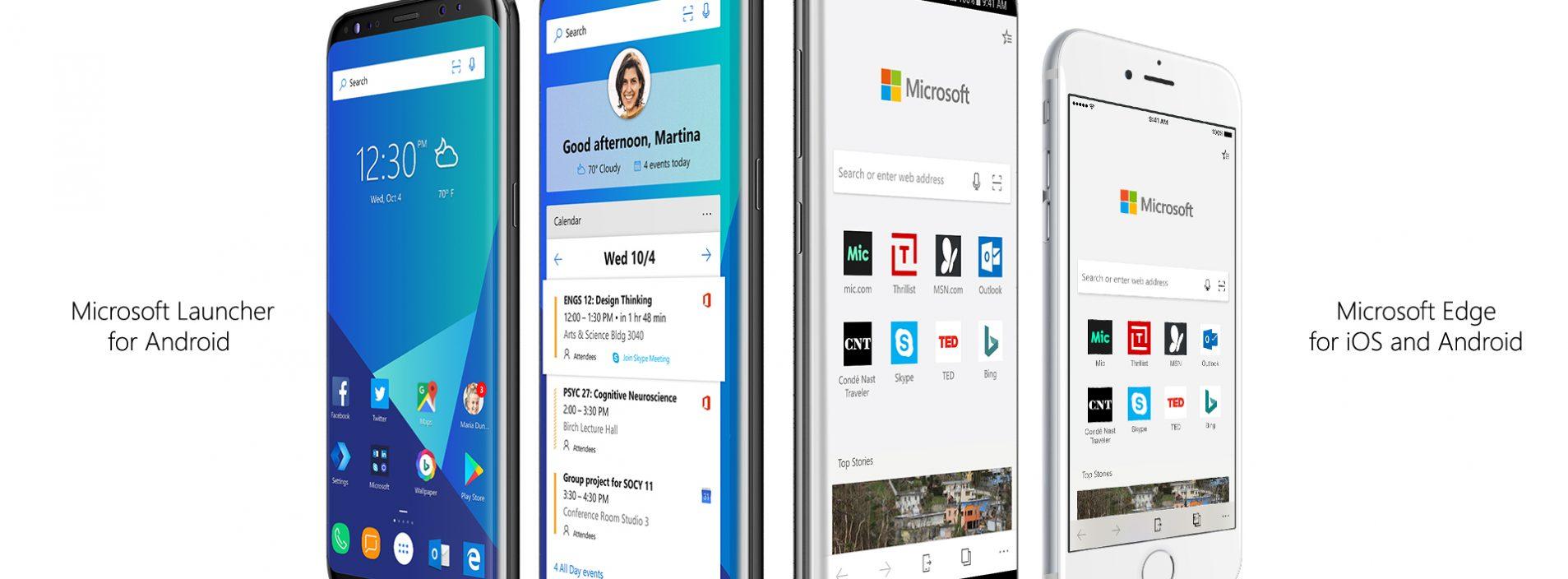 Veja um pouco do Microsoft Edge Preview no iPhone