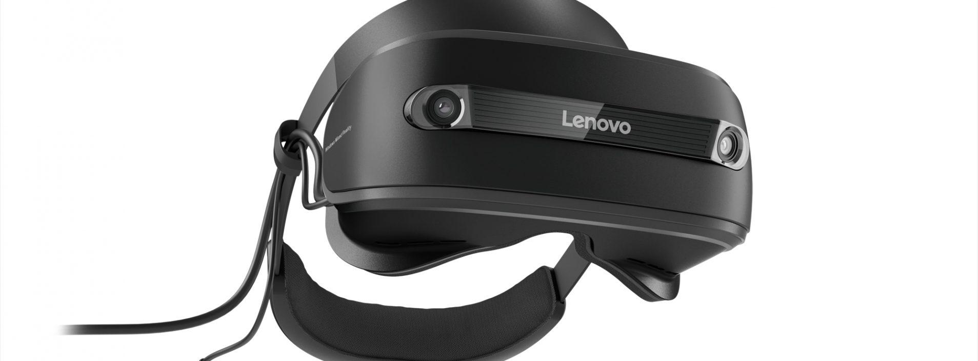 Headset da Lenovo para a Windows Mixed Reality chega ao Brasil