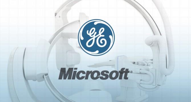GE e a Microsoft anunciam uma parceria industrial mais profunda em internet