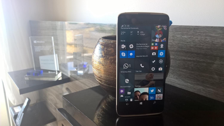 Minha experiência com o Alcatel IDOL 4S com Windows 10 Mobile em pleno 2017…
