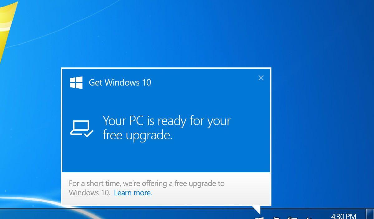 Campanha da Microsoft incentiva usuários a trocarem o Windows 7 pelo 10