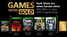 Saiu a lista dos jogos do Games With Gold de janeiro de 2018