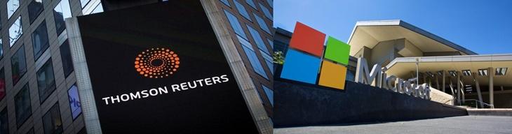 Reuters elege Microsoft como a principal líder global no setor de tecnologia