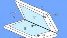 Nova patente da Microsoft para um dispositivo com tela dobrável trata da câmera