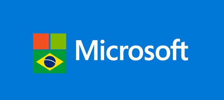 Microsoft está investindo no rápido crescimento do Brasil com o aumento da demanda