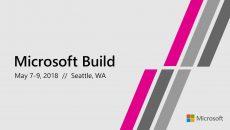Inscrições para a Build 2018 aqui! muita coisa boa chegando