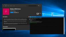 Debian GNU/Linux está disponível no Windows 10