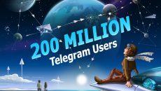 Telegram comemora marca de 200 milhões de usuários ativos por mês com atualização para o App