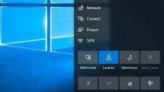 Conheças algumas das novidades que poderão chegar para a Central de Ações do Windows 10