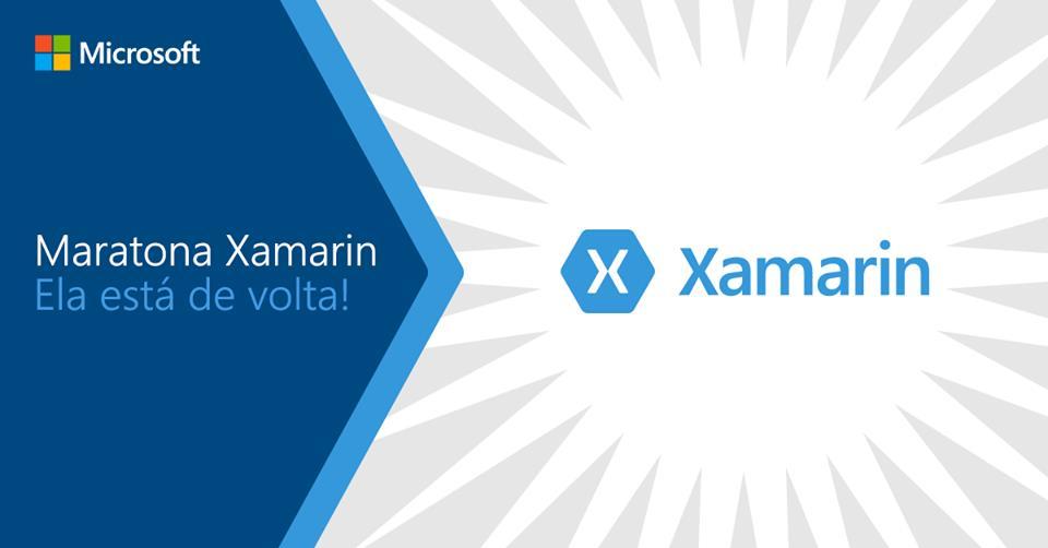 Abertas as inscrições para a maratona Xamarin a partir de 22 de maio