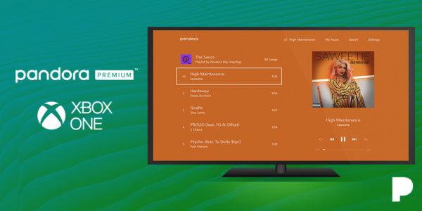 Pandora Premium disponível para usuários do Xbox One