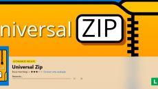 Universal Zip: um fantástico aplicativo para compactar arquivos está grátis