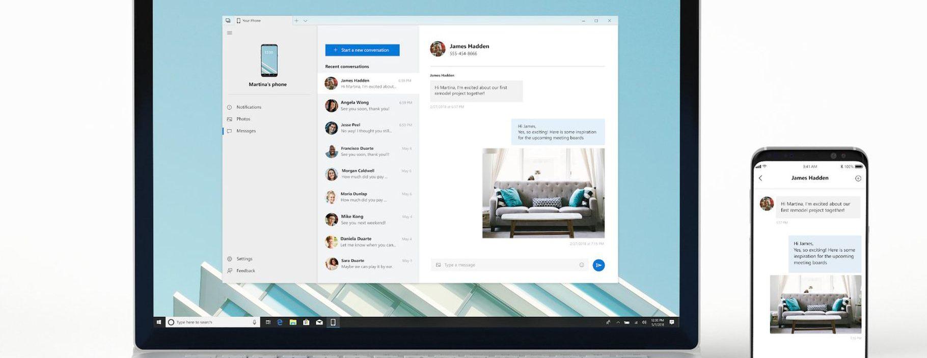 Build 2018: Microsoft lança App que espelha tela do seu celular Android no Windows
