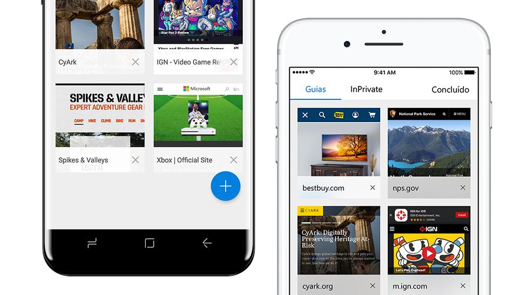Microsoft Edge para Android já foi baixado 5 milhões de vezes