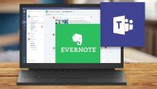Microsoft Teams agora conta com integração com o Evernote