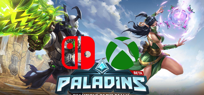 Nintendo anuncia cross play com Xbox One no jogo Paladins