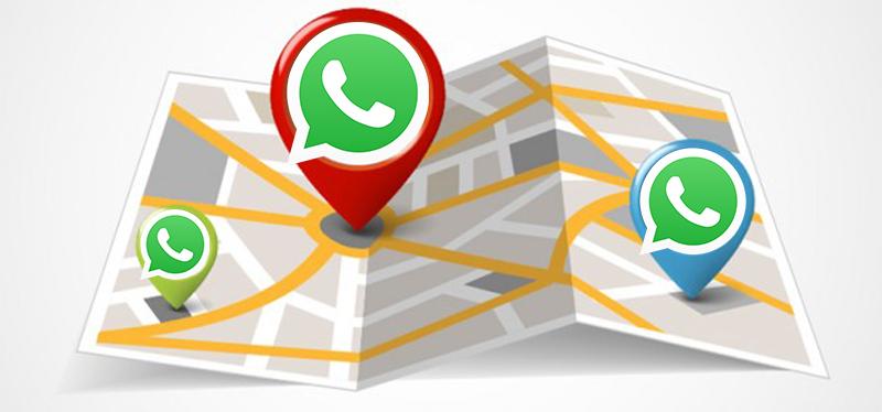 WhatsApp libera localização em tempo real para todos