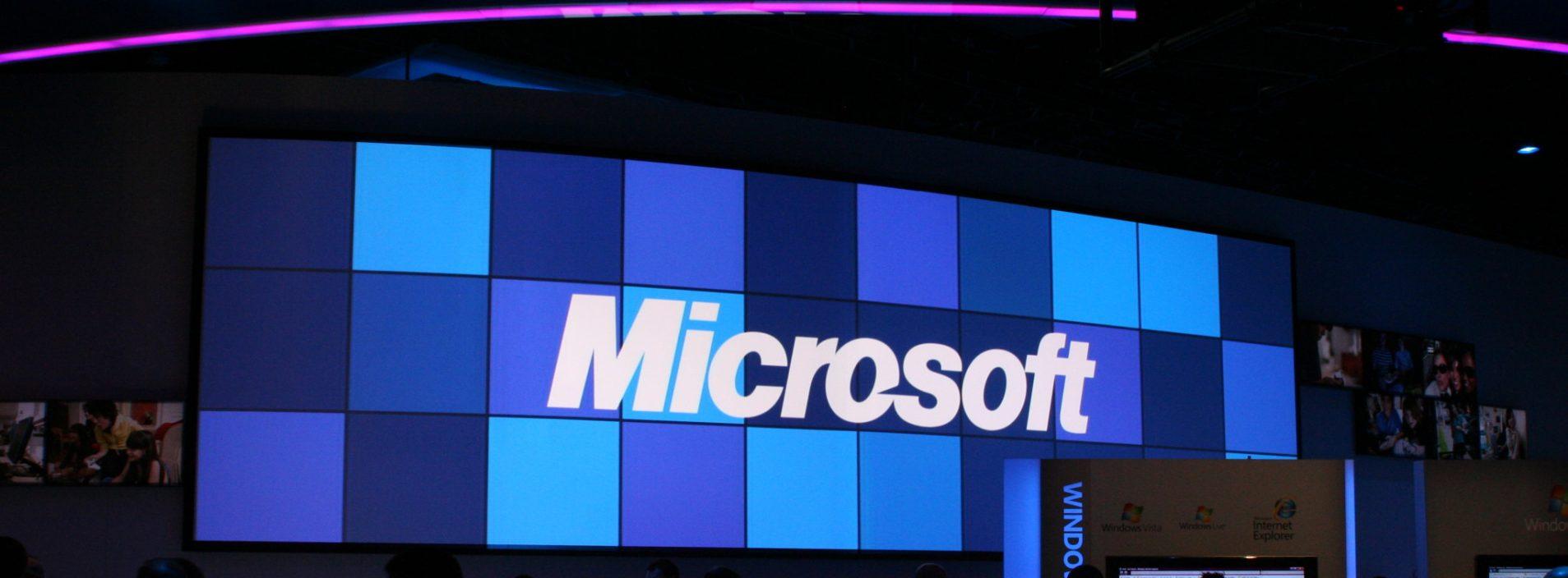 Valor das ações da Microsoft bate novo recorde