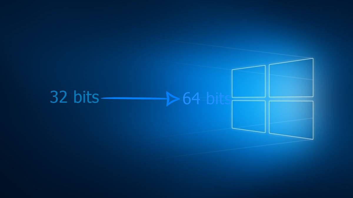 Como atualizar o Windows 10 da versão de 32 bits para a de 64 bits?