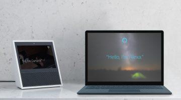 É OFICIAL! Cortana e Alexa agora trabalham juntas