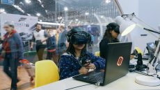 Estande da Microsoft na Bienal Internacional do Livro de SP está incrível
