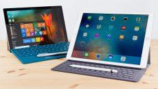 A cada 10 iPads vendidos a Microsoft vende 1 Surface