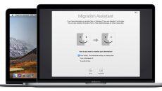 Apple melhora o utilitário de migração do Windows com o macOS Mojave
