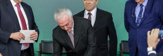 Presidente Temer sanciona Lei brasileira de Proteção de Dados