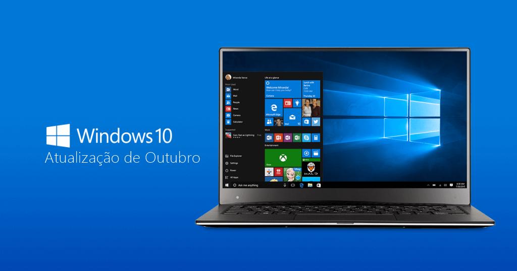 Encontraram mais problemas com a atualização de outubro do Windows 10
