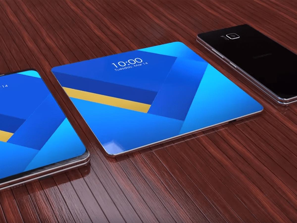 Samsung pode anunciar smartphone com tela flexível ainda em 2018