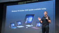 Atualização de outubro do Windows 10 estará disponível a partir de hoje