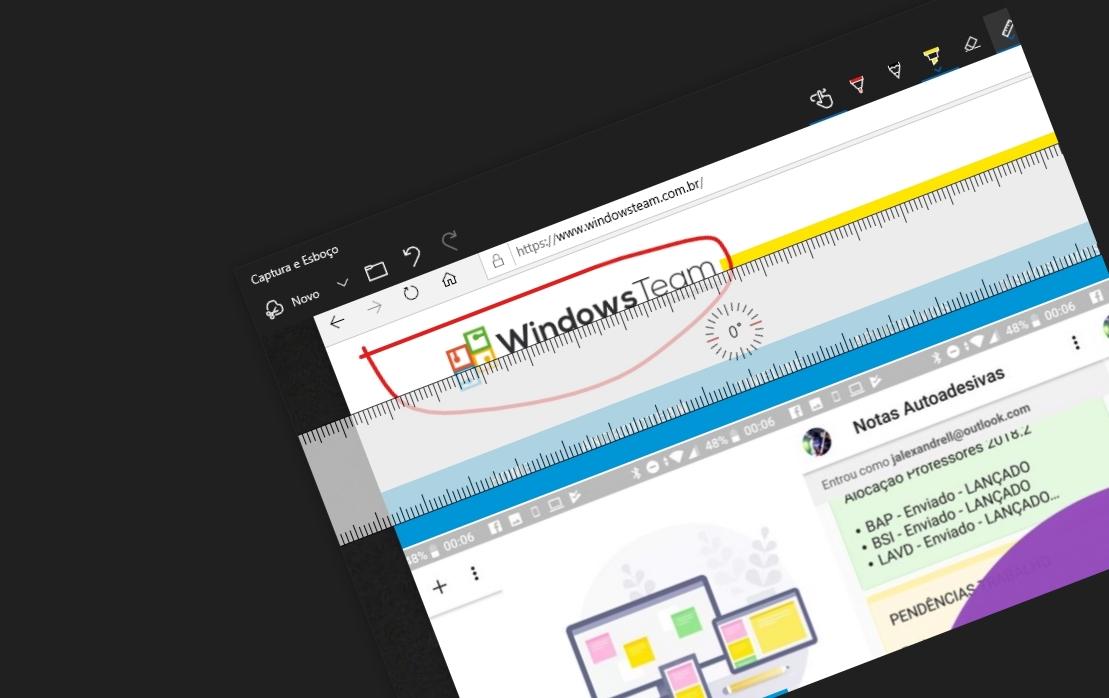 Captura e Esboço: Aprenda a usar a nova ferramenta de captura de tela do Windows 10
