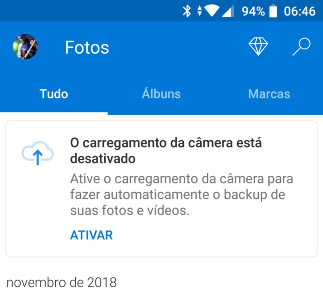 OneDrive para Android ganha upload automático de fotos e mais