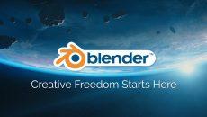 Aplicativo de gráficos 3D Blender agora disponível na Microsoft Store