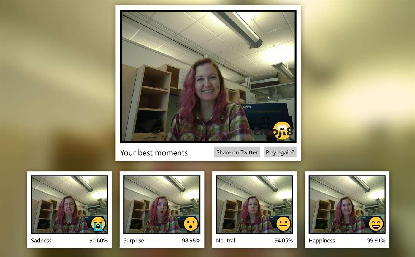 Microsoft lança aplicativo de emoji que identifica suas expressões