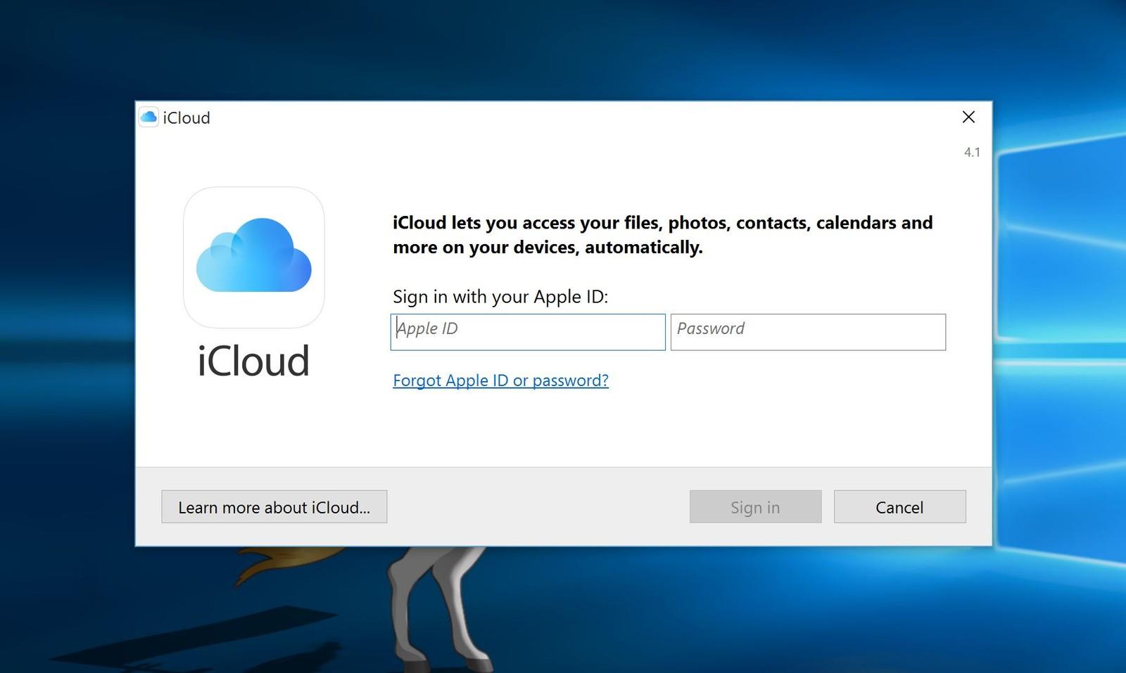Porque a Microsoft está impedindo a instalação do iCloud no Windows 10?