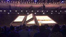 Samsung anuncia seu smartphone com tela flexível