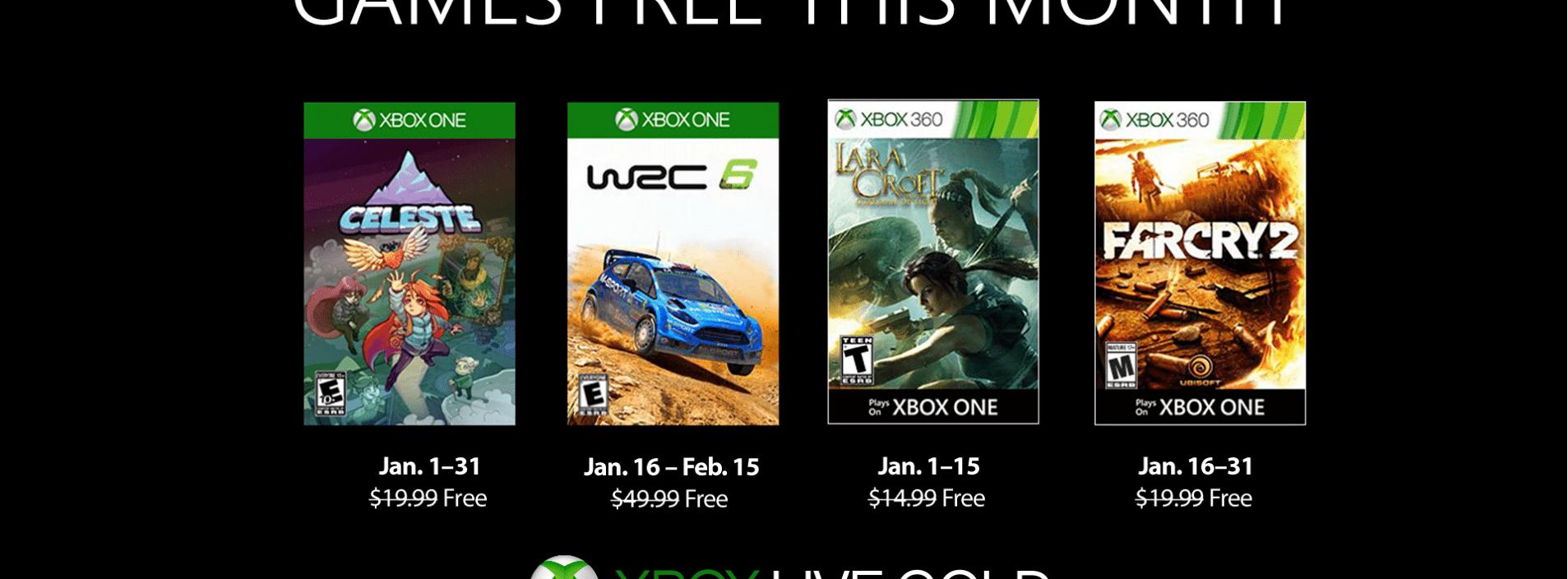 Games With Gold de janeiro tem Far Cry 2 e Celeste