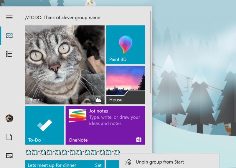Menu Iniciar do Windows 10 agora vai ser um aplicativo