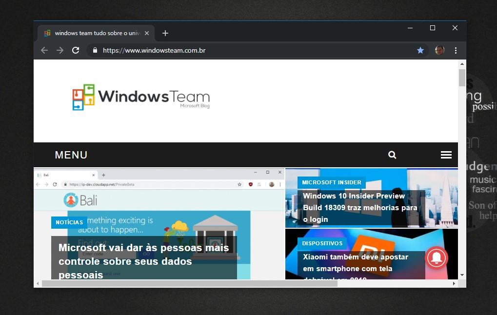 Google Chrome para Windows 10 vai ganhar tema escuro