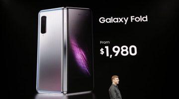 Samsuns anuncia seu primeiro smartphone com tela flexível